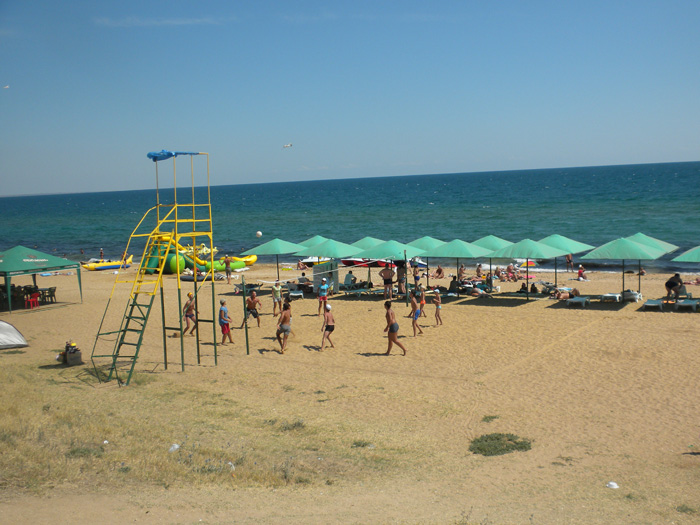 Пляж Береговое