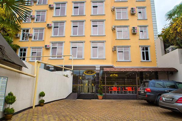 Отель Марианна,Фасад