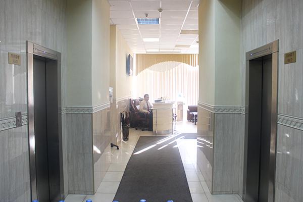 Гостиничный комплекс Металлург,Холл