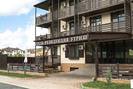 Отель Резиденция Утриш,Внешний вид
