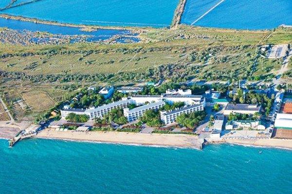 Санаторий Полтава-Крым,Вид сверху на территорию