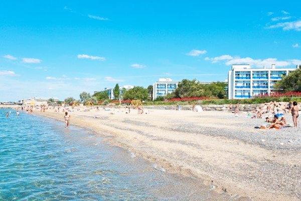 Санаторий Полтава-Крым,Пляж
