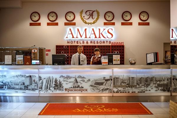 Сити-отель Amaks сити-отель,Ресепшен
