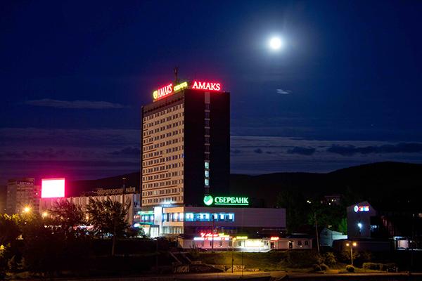 Сити-отель Amaks сити-отель,Внешний вид