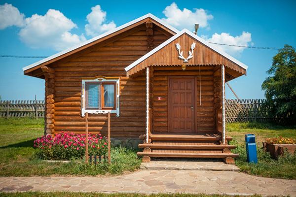 Турбаза Пеней Рыболовно-туристическая база,Дом 2-местный