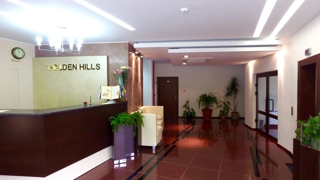 Отель Голден Хиллс (Golden Hills),Служба размещения