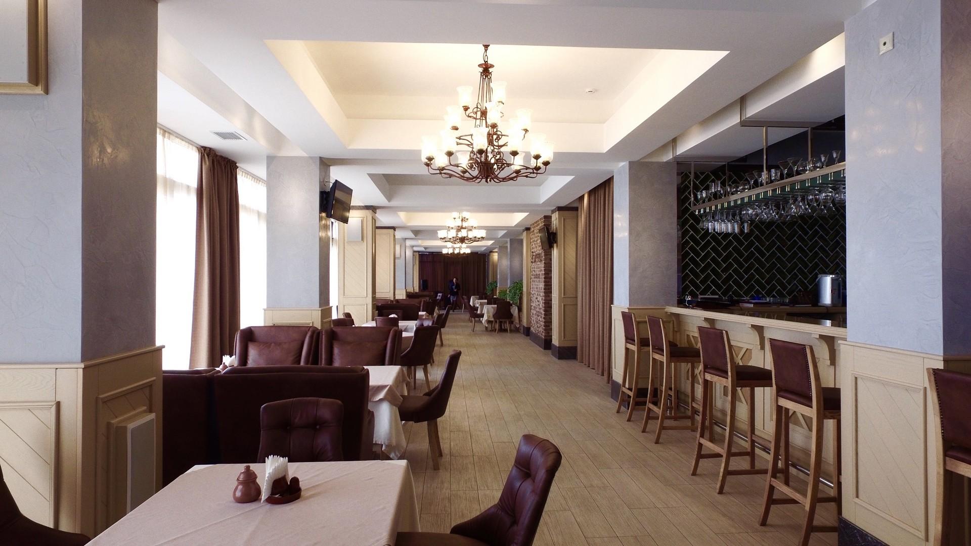Отель Голден Хиллс (Golden Hills),Ресторан