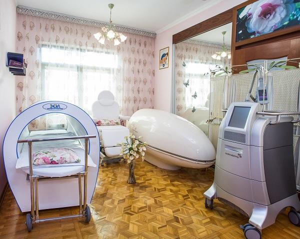 Санаторий Октябрьский (РЖД),Оборудование СПА «Вселенная красоты» 1