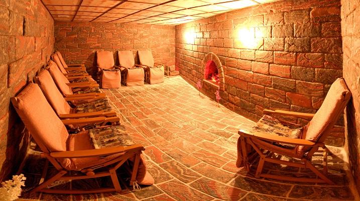 Соляная пещера - спелеокамера
