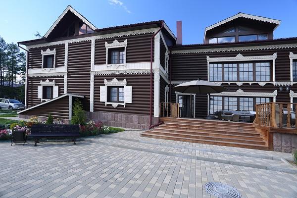 Гостиница Байкальская резиденция Лодж Отель,Общий вид