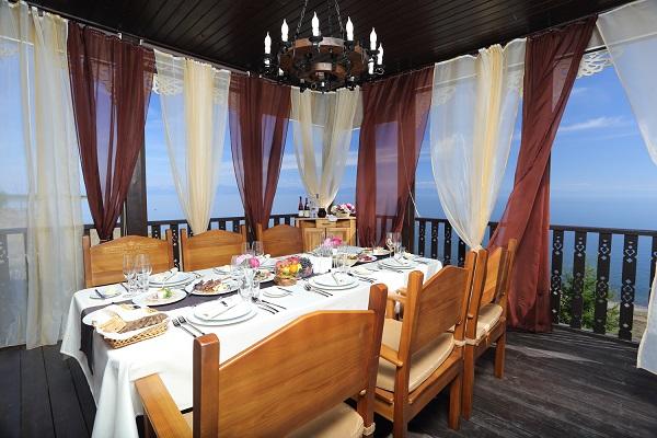 Гостиница Байкальская резиденция Лодж Отель,Ресторан