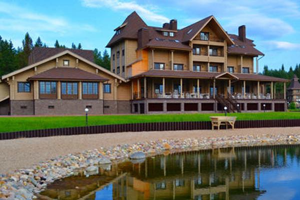 Эко-отель Лепота,Внешний вид