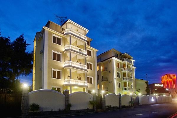 Мини-отель Черное море (Black Sea),Корпуса отеля
