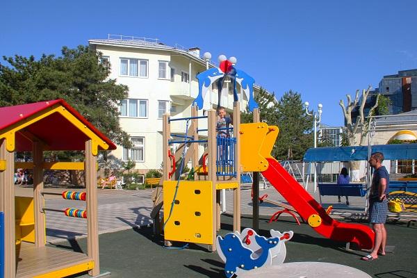 Санаторий БФО ,Детская площадка