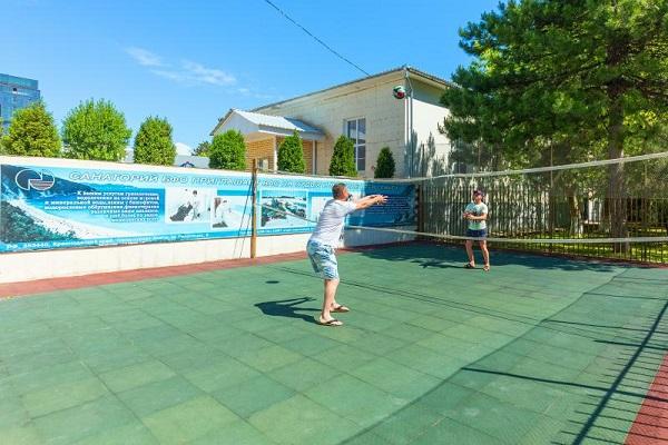 Санаторий БФО ,Волейбольная площадка