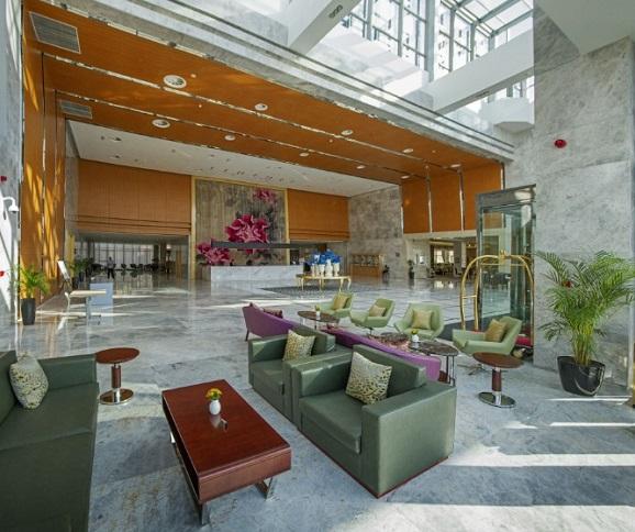 Отель Hotels & Preference Hualing Tbilisi,Холл