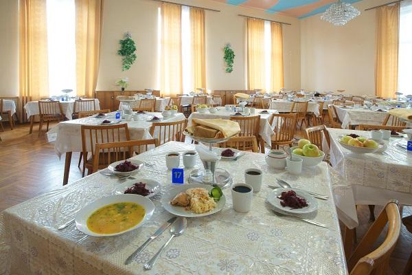 Санаторий Симеиз,Столовая