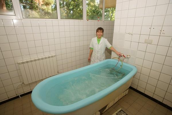 Санаторий Симеиз,Ванное отделение