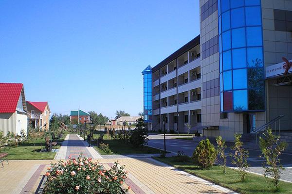 Санаторно-курортный комплекс Эльтон,Территория