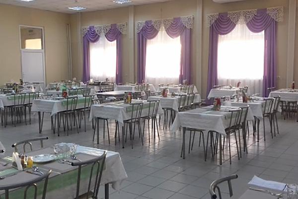 Санаторно-курортный комплекс Эльтон,Столовая