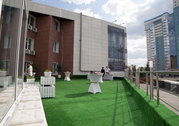 Отель Московская Горка,Летняя терраса