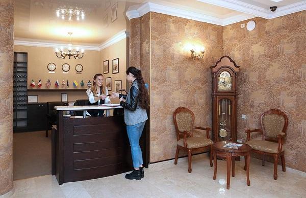 Отель Kalasi Hotel ,Ресепшен