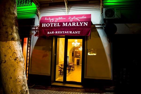 Отель Marlyn,Фасад