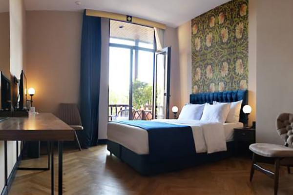 Отель Museum hotel,Делюкс 1 кровать