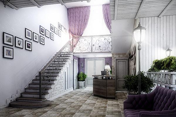 Гостевой дом Вилла Журавли,Холл и бар