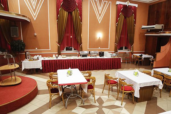 Гостиница Октябрьская,Ресторан