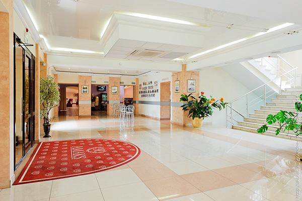 Отель Амакс Парк Отель,Холл