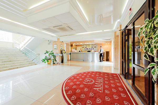 Отель Амакс Парк Отель,Стойка регистрации