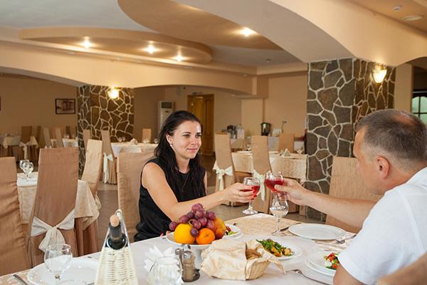 Отель Амакс Парк Отель,Ресторан