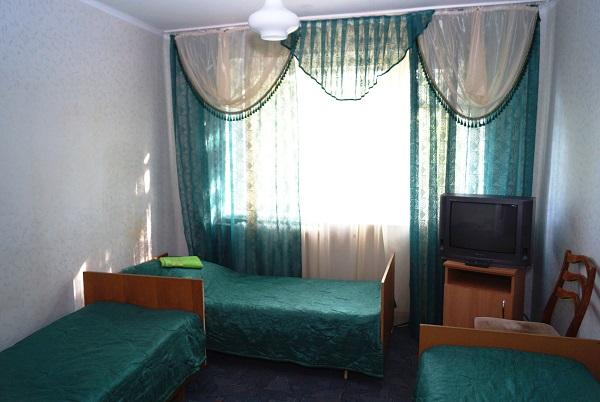 Туристско-оздоровительный комплекс Привал,Стандарт корп. 3-х мест №1