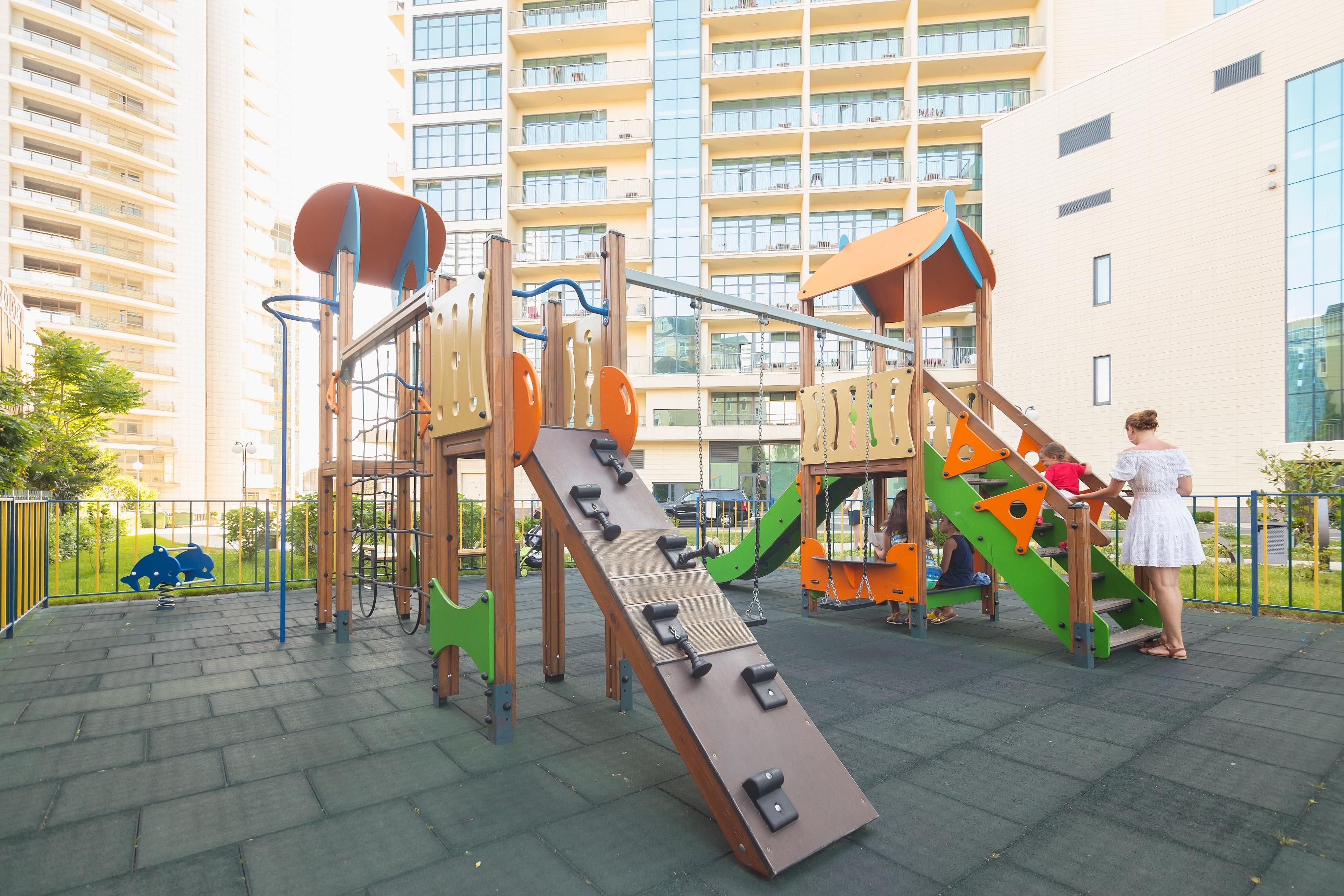Апарт-отель Бревис (Brevis),Детская площадка