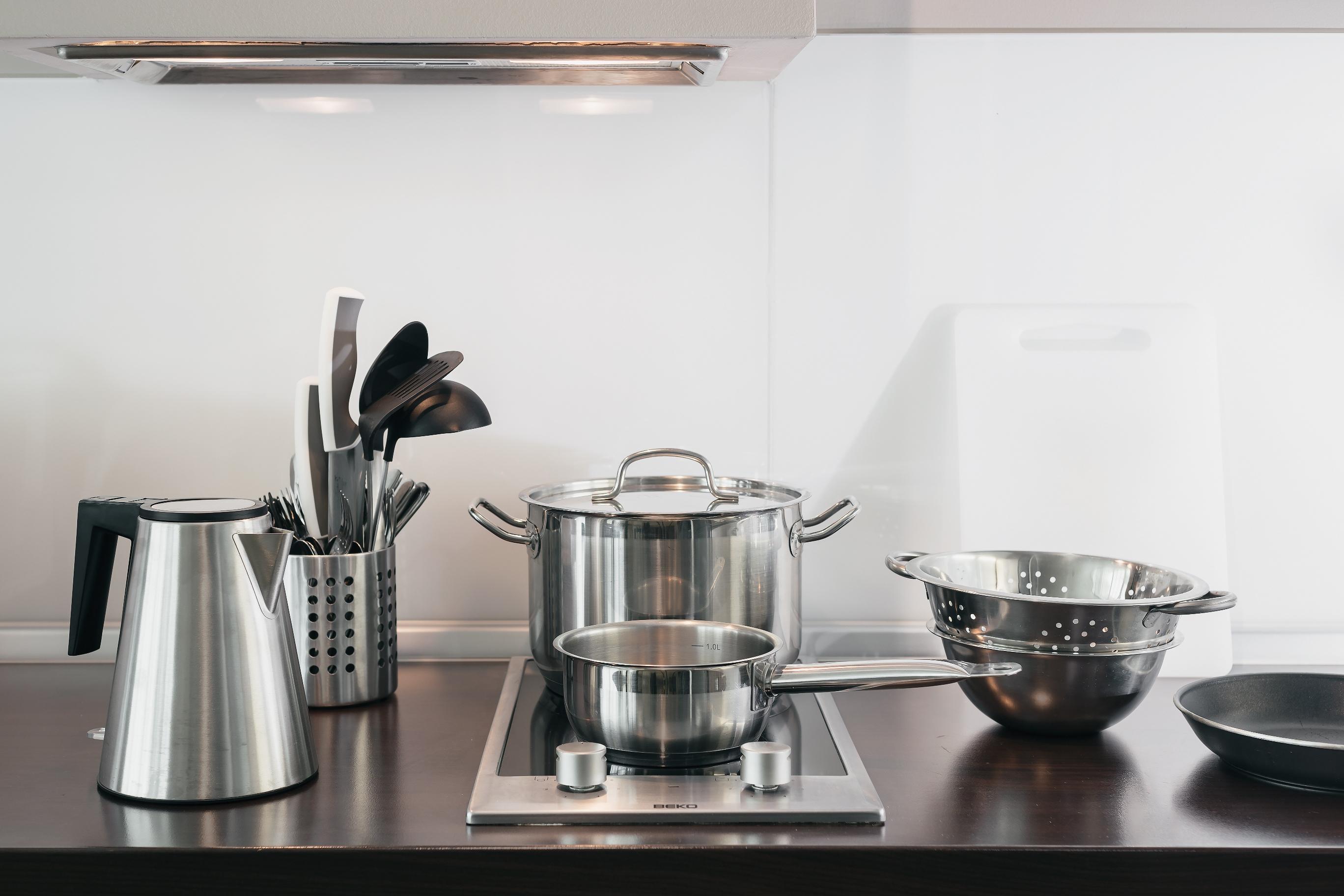 Апарт-отель Бревис (Brevis),Оборудование кухни