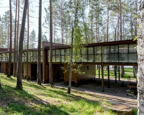 эко-отель Алтика,Основной корпус