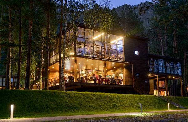 эко-отель Алтика,Ресторан