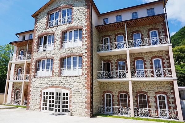 Гостиница Никополи,Внешний вид