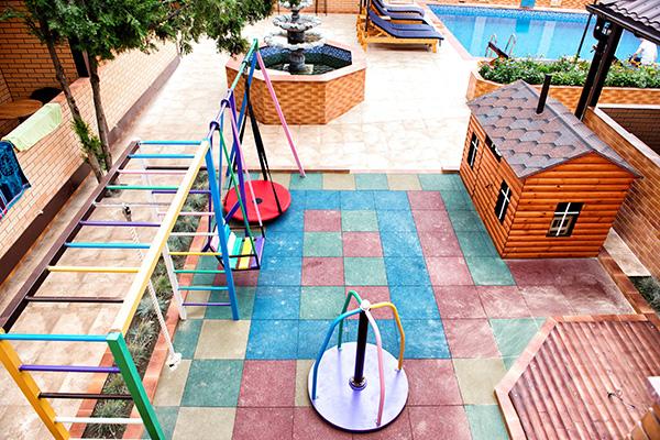 Отель Прохлада ИНН,Детская площадка