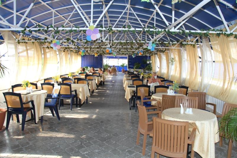 Пансионат Солнечный ,Кафе