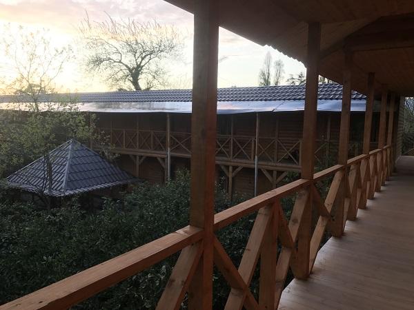 Гостевой дом Алекса (бывш. У Александры) ,Общий балкон
