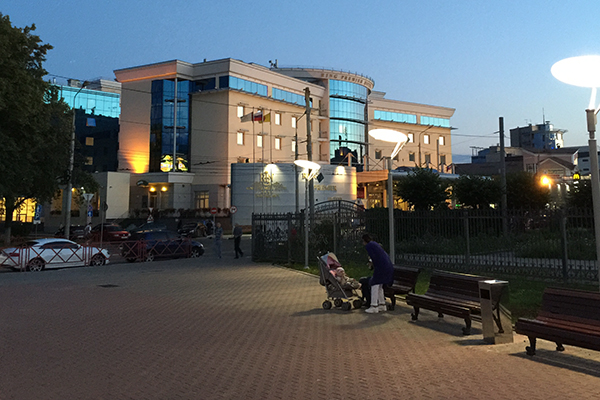 Гостиница Ринг Премьер Отель,Фасад