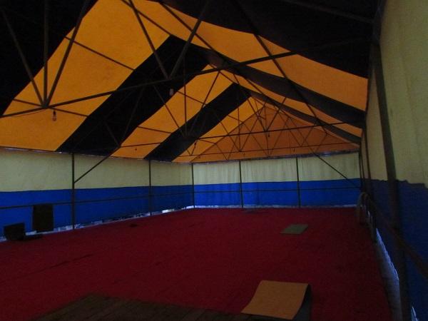 Турбаза Динамо,Крытый шатер