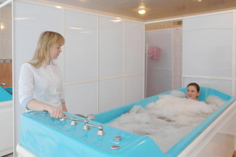 Пансионат Крымские зори,Ванное отделение