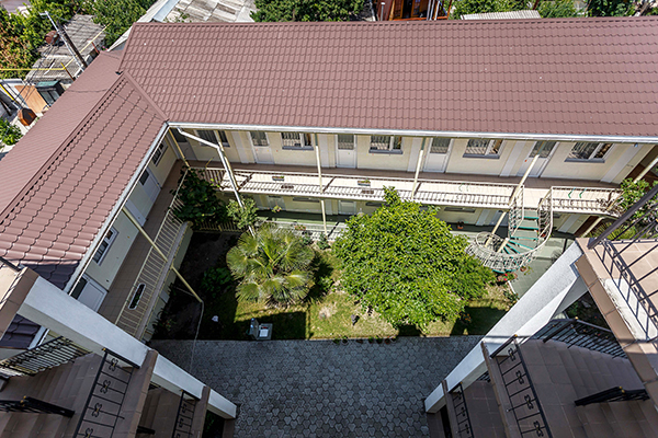 Гостевой дом Эдем,Внешний вид сверху