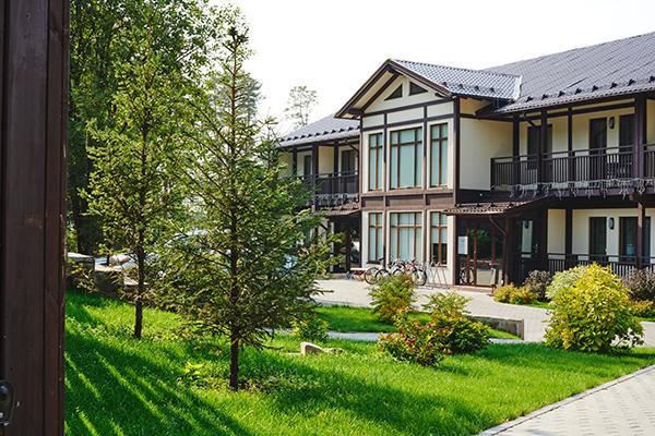 Отель Гринвальд,территория