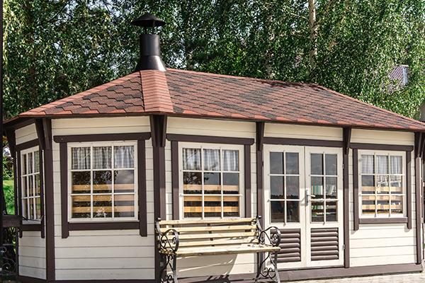 Отель Гринвальд,финский домик