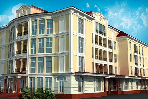Отель Грей ИНН,Внешний вид здания