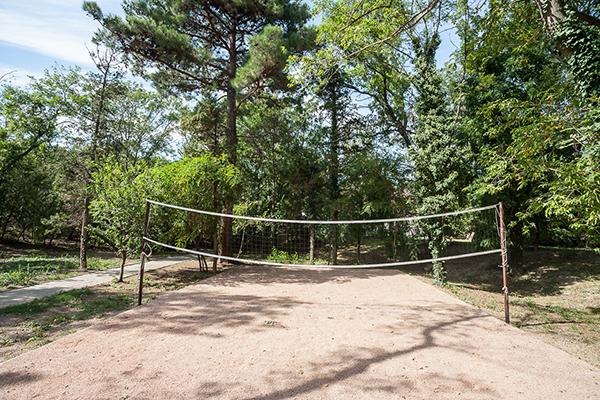 Площадка для воллейбола
